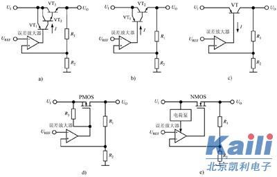低压差线性稳压器的拓扑结构与应用
